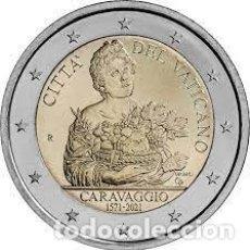 Euros: 2 EUROS 450 ANIVERSARIO DEL NACIMIENTO DE CARAVAGGIO. Lote 293438108