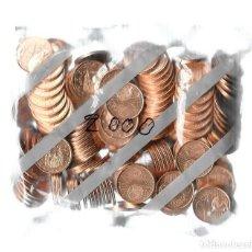 Euros: BOLSA FNMT 200 MONEDAS 2 CÉNTIMOS DE EURO AÑO 2000 SIN ABRIR SC.. Lote 294029458
