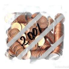 Euros: BOLSA FNMT 200 MONEDAS 2 CÉNTIMOS DE EURO AÑO 2001 SIN ABRIR SC.. Lote 294030013