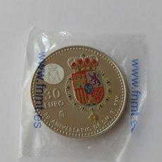 Euros: ESPAÑA 30 EUROS 2018 PLATA SC 1300 ANIVERSARIO DEL REINO DE ASTURIAS. Lote 294085603