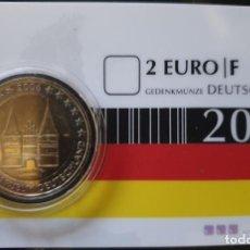 Euros: COINCARD 2 EUROS ALEMANIA 2006 - HOLSTEIN - CECA F - TIRADA 550. Lote 294101683