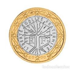 Euros: MONEDA 1 EURO FRANCIA 2000 - SIN CIRCULAR. Lote 294153553