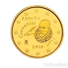 Euros: MONEDA 20 CTS ESPAÑA 2010 - SIN CIRCULAR. Lote 294154273