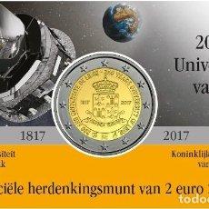 Euros: BELGICA 2 EUROS 2017 - CONM. UNIV. DE LIEJA - EN COINCARD - VERSIÓN VALONA. Lote 294372408