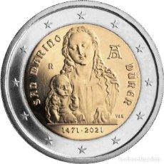 Euros: 2 EUROS 2021 SAN MARINO 550 ANIVERSARIO DEL NACIMIENTO DE ALBERTO DURERO. Lote 294442918