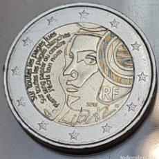 Euros: FRANCIA 2015 2 EUROS CONMEMORATIVOS BC MONEDA 2 € CONMEMORATIVA FIESTA FEDERACIÓN. Lote 295447393