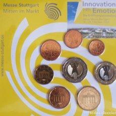 Euros: CARTERA / BLISTER ALEMANIA 2007 MESSE STUTTGART - MONEDAS ALEMANIA 2003 CECA F - TIRADA 500. Lote 295978063