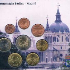 Euros: CARTERA / BLISTER ALEMANIA 2003 BERLIN MADRID - MONEDAS ALEMANIA 2003 CECA A. Lote 295980828