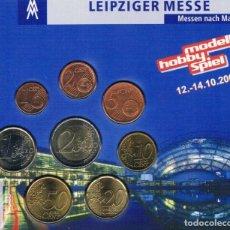 Euros: CARTERA / BLISTER ALEMANIA 2007 MESSE LEIPZIG - MONEDAS ALEMANIA 2003 CECA F - TIRADA 500. Lote 295981708