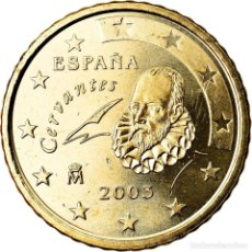 Euros: [#790885] ESPAÑA, 50 EURO CENT, 2003, SC, LATÓN, KM:1045. Lote 296555643