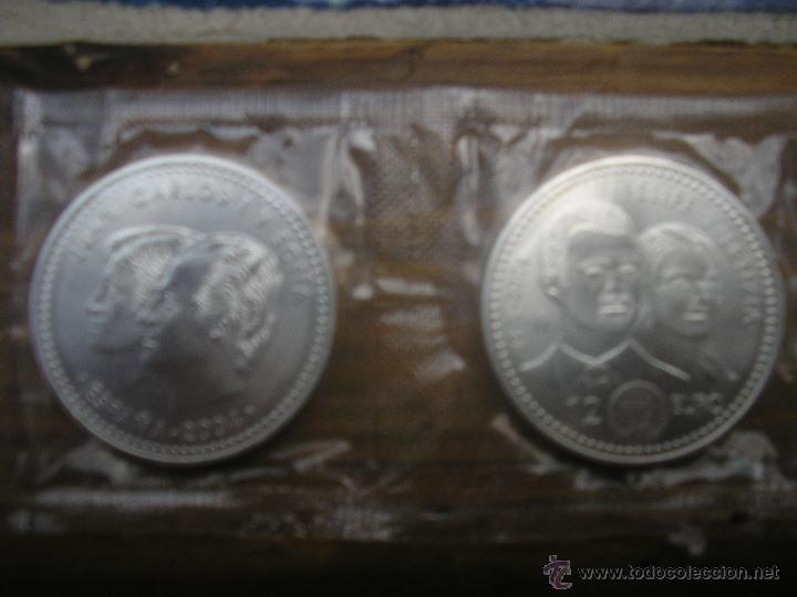 PAREJA DE MONEDAS DE 12€ AÑO 2004 BODA FELIPE VI Y LETICIA (Numismática - España Modernas y Contemporáneas - Felipe VI)
