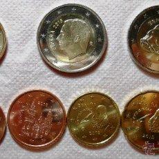 Monedas de Felipe VI: ESPAÑA 2015. SERIE DE EUROS DESDE 1 CENTIMO A 2 EUROS DE FELIPE VI + CONMEMORATIVA DE ALTAMIRA.. Lote 221520041