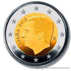 Monedas de Felipe VI: ESPAÑA 2 €UROS 2015 FELIPE VI - SIN CIRCULAR. Lote 144752984