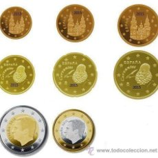 Monedas de Felipe VI: SERIE / SET ESPAÑA 2016 8 VALORES S/C NUEVO FORMATO FELIPE VI. Lote 184134352
