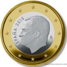 Monedas de Felipe VI: ESPAÑA 1 EURO 2015 FELIPE VI. Lote 193665411