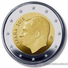 Monedas de Felipe VI: 2 EUROS ESPAÑA 2016 NUEVO TIPO REY FELIPE VI ENCARTONADA S/C. Lote 210676807