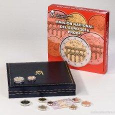 Monedas de Felipe VI: ESPAÑA 2016 : ESTUCHE COMPLETO DEL EURO CALIDAD PROOF. Lote 134311615