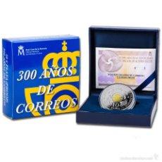Monedas de Felipe VI: ESPAÑA: 10 EUROS PLATA 2016 PROOF 300 ANIVERSARIO DE CORREOS - 8 REALES. Lote 58154417