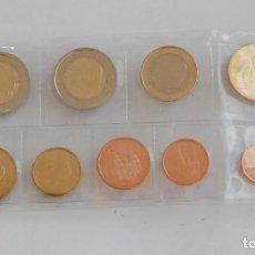 Monedas de Felipe VI: SERIE / SET / TIRA ESPAÑA 2015 9 VALORES S/C NUEVO FORMATO FELIPE VI. Lote 70108249