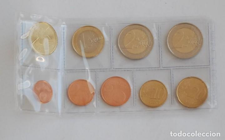 Monedas de Felipe VI: Serie / set / tira España 2015 9 valores s/c Nuevo formato Felipe VI - Foto 2 - 70108249
