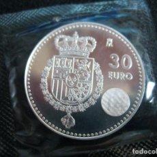 Monedas de Felipe VI: ESPAÑA - 30 EUROS AÑO 2014 FELIPE VI REY DE ESPAÑA (PLATA/AG). Lote 120725024