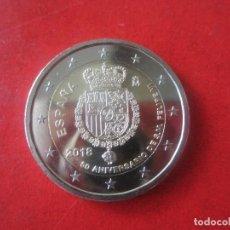 Monedas de Felipe VI: ESPAÑA. 2 EUROS CONMEMORATIVA 2018. 50 ANIVERSARIO DEL REY FELIPE VI. Lote 119193444