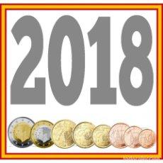 Monedas de Felipe VI: ESPAÑA: SERIE EURO 2018 LOS 8 VALORES S/C REY FELIPE V. Lote 182344941