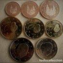 Monedas de Felipe VI: EUROS ESPAÑA 2018 SERIE BASICA -8 MONEDAS- REY FELIPE VI- EN TIRA S/C.-. Lote 157768906