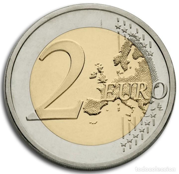 Monedas de Felipe VI: 2 EUROS ESPAÑA 2018 -NOVEDAD: 50 ANIVERSARIO. FELIPE VI-* MONEDA CONMEMORATIVA*-ENCAPSULADA- - Foto 2 - 175869907