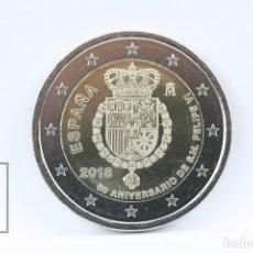 Monedas de Felipe VI: MONEDA 2 EUROS , ESPAÑA 50 ANIVERSARIO DE S.M FELIPE VI - AÑO 2018 - CONSERVACIÓN SC. Lote 139254832