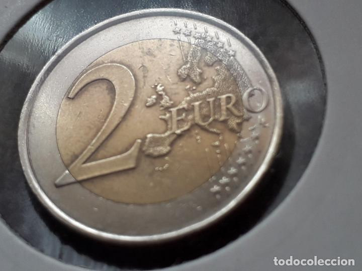 Monedas de Felipe VI: MON0060 - España 2€ 2014, Felipe VI-CUÑO ROTO BAJO E - Foto 3 - 118073931