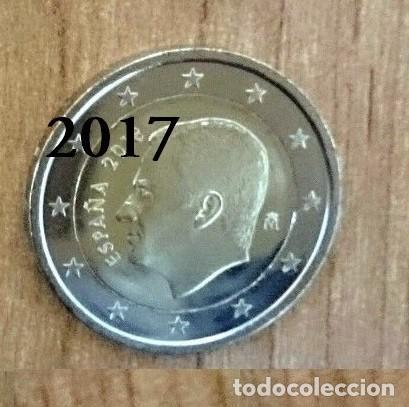 ESPAÑA 2017 MONEDA 2€ DEL REY FELIPE VI (Numismática - España Modernas y Contemporáneas - Felipe VI)