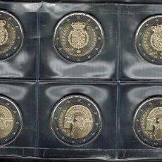 Monedas de Felipe VI: 5 JUEGOS EN PAREJA DE LAS MONEDAS ESPECIALES DE 2 EUROS DE 2018. Lote 135404614