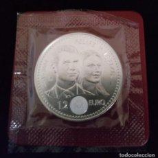 Monedas de Felipe VI: M - MONEDA DE 12 EUROS - FELIPE VI Y LETICIA - JUAN CARLOS I Y SOFIA - 2004. Lote 136367530