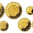 Monedas de Felipe VI: ESPAÑA: SERIE COMPLETA ORO 2018 PROOF 150 AÑOS DE LA DESAPARICION DE LOS ESCUDOS. Lote 141526998