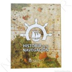 Monedas de Felipe VI: ESPAÑA: 1ª SERIE HISTORIA DE LA NAVEGACION ESPAÑA 2018 - ALBUM + 4 MONEDAS. Lote 238663315