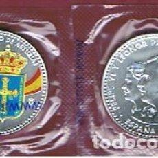 Monedas de Felipe VI: ESPAÑA : 30 € PLATA 2018 (REY FELIPE VL Y PRINCESA LEONOR)1300 ANV.REINO ASTURIAS SC. UNC.. Lote 144797282