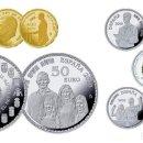 Monedas de Felipe VI: ESPAÑA COLECCIÓN COMPLETA PLATA Y ORO 2018 PROOF 50 ANIV. DE S.M. REY FELIPE. Lote 144983694