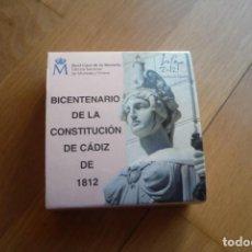 Monedas de Felipe VI: 2012,BICENTENARIO CONSTITUCION DE CADIZ 1812.10 EUROS,PLATA.. Lote 147490454