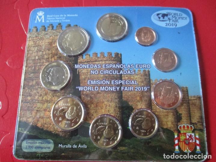 BLISTER MONEDAS DE ESPAÑA. EUROS 2019 EMISION ESPECIAL PARA LA FERIA DE BERLIN (Numismática - España Modernas y Contemporáneas - Felipe VI)