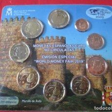 Monedas de Felipe VI: BLISTER MONEDAS DE ESPAÑA. EUROS 2019 EMISION ESPECIAL PARA LA FERIA DE BERLIN. Lote 150969682