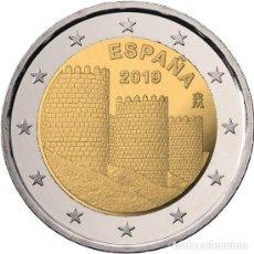 Moedas de Felipe VI: ESPAÑA 2 EUROS 2019 LA MURALLA DE AVILA S/C. Lote 213308081