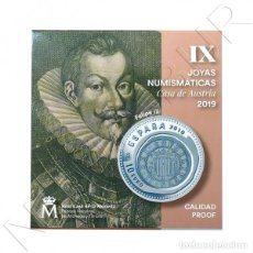 Monedas de Felipe VI: ESPAÑA: 10 EURO PLATA 2019 PROOF IX JOYAS NUMISMATICAS - 8 REALES FELIPE III. Lote 152450866