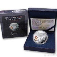 Monedas de Felipe VI: ESPAÑA: 10 EURO PLATA 2019 PROOF PROGRAMA EUROPA - RENACIMIENTO. Lote 166537374
