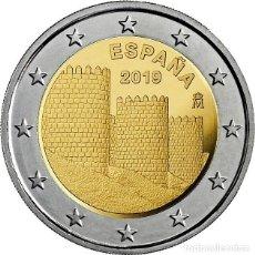 Monedas de Felipe VI: 2 EUROS ESPAÑA 2019 -NOVEDAD: *MURALLAS DE AVILA* MONEDA CONMEMORATIVA*-ENCAPSULADA-. Lote 190556343