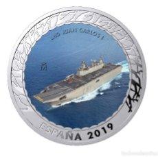 Monnaies de Felipe VI: ESPAÑA 1,5 EURO 2019 LHD JUAN CARLOS I - HISTORIA DE LA NAVEGACION 3ª SERIE. Lote 168601813