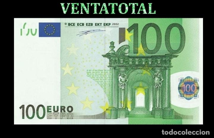 BILLETE TRAINER DE 100 EUROS BILLETE PARA COLECCIONARLO JUGAR O ENSEÑANZA USADO EN PELICULAS- Nº3 (Numismática - España Modernas y Contemporáneas - Felipe VI)