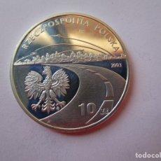 Monedas de Felipe VI: POLONIA . 100 ZLOTYCH DEL AÑO 2003 . PROOF. CALIDAD SIN CIRCULAR .. Lote 173539585