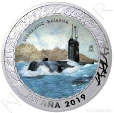 Monedas de Felipe VI: ESPAÑA 1,5 EURO 2019 SUBMARINO GALERNA - HISTORIA DE LA NAVEGACION 5ª SERIE. Lote 222132517