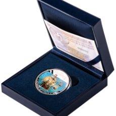 Monedas de Felipe VI: ESPAÑA 10 EURO PLATA MULTICOLOR 2019 PROOF V CENTENARIO VUELTA AL MUNDO. Lote 189350745